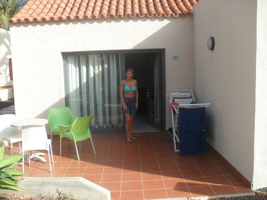 Caybeach Caleta: Typical Appartment Terrace area