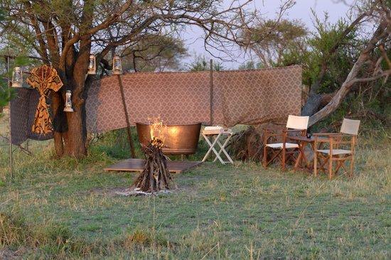 Bush bath - Picture of Alex Walker\'s Serian, Serengeti National Park ...