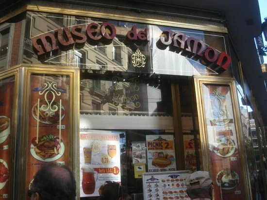Picture Of Museo Del Jamon Madrid Tripadvisor