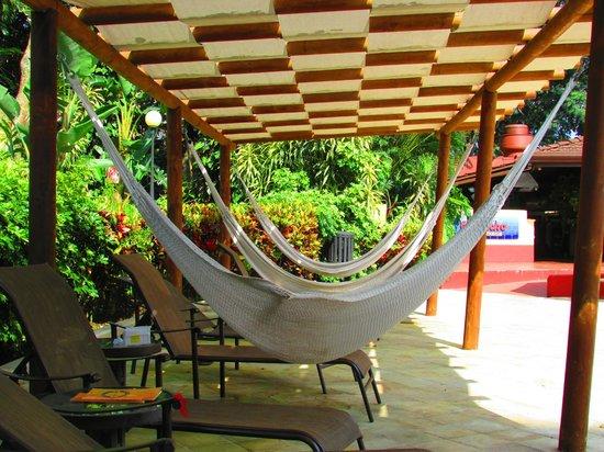Barceló San José: Pool side hammocks