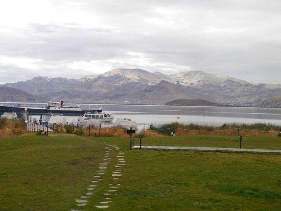 Sonesta Posadas del Inca Lake Titicaca Puno: View from my room