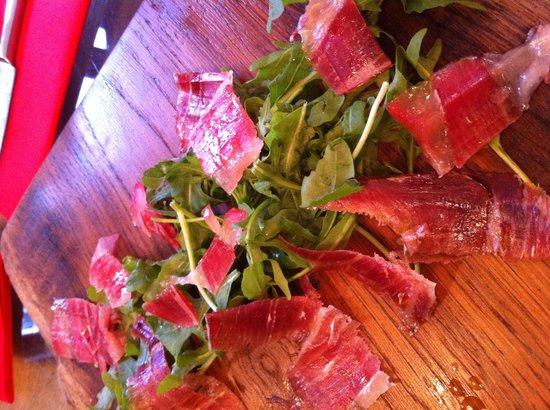 Ambiente Tapas Goodramgate : Fresh cut ham