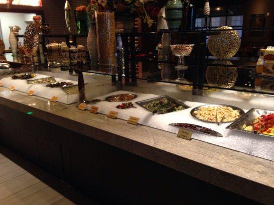 Capriz Italian Feast: Half of the salad bar
