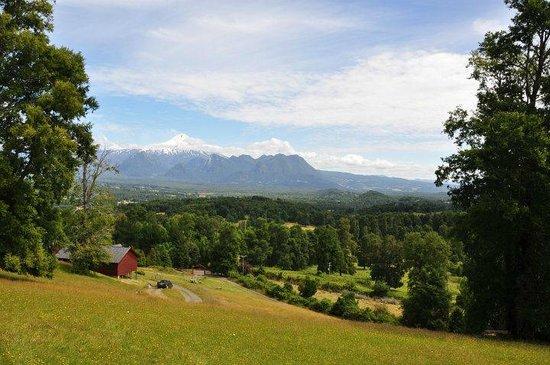 Mirador los Volcanes Lodge & Boutique : vista da varanda