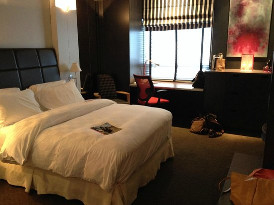 Hotel ALT Quebec: Black Room