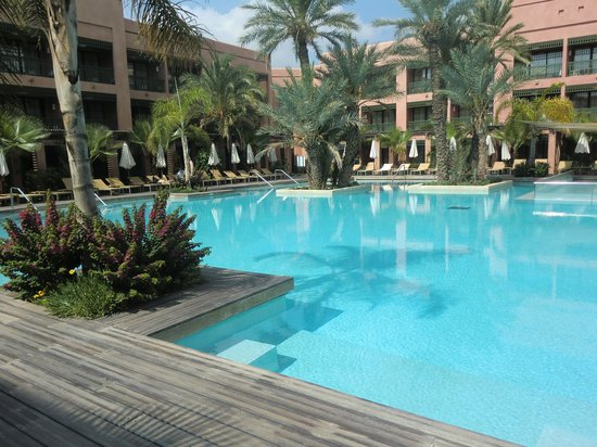 Hotel Du Golf: Pool area
