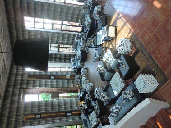 Hotel Du Golf : Lounge area