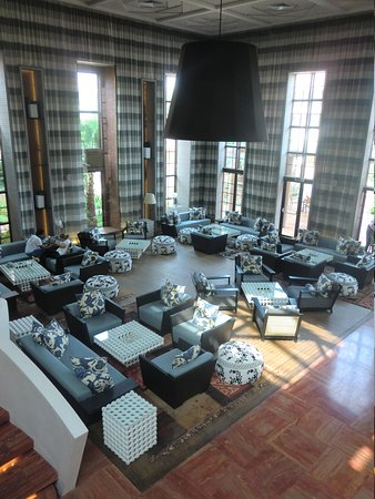 Hotel Du Golf: Lounge area