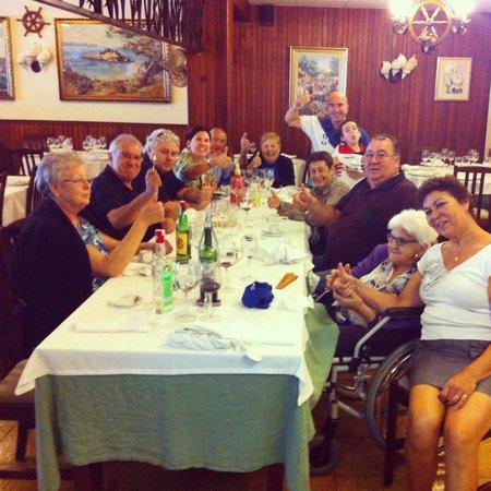 Bar Restaurante Lovento: Maravilloso final de comida familiar
