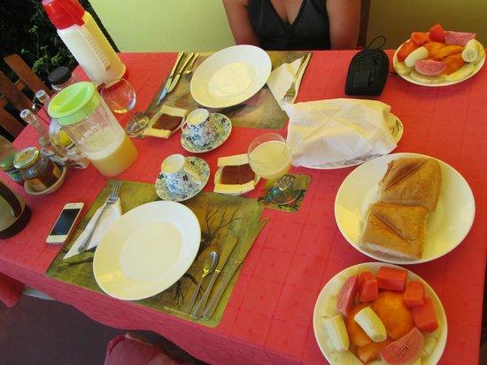 Villa Los Reyes : Magnífico desayuno