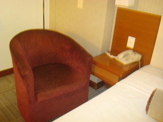 Comfort Suites Brasília : Conforto e estação de trabalho