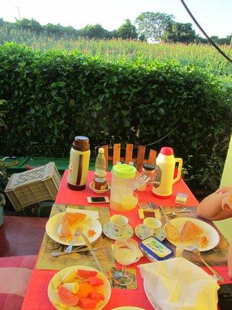 Villa Los Reyes : Desayuno