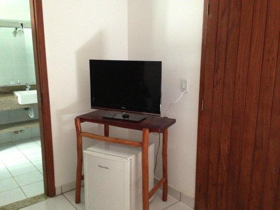 Hotel Pousada Arraial Candeia : TV
