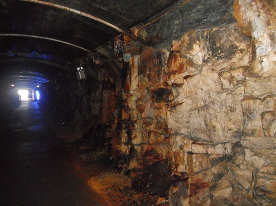 Arigna Mining Experience: Part of the walk through the Arigna mine