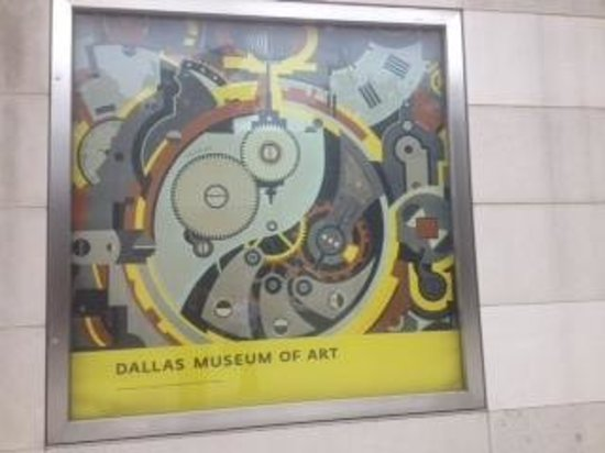 Dallas Museum of Art : museum poster