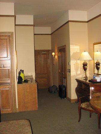 The Herrington Inn & Spa: Room entrance.