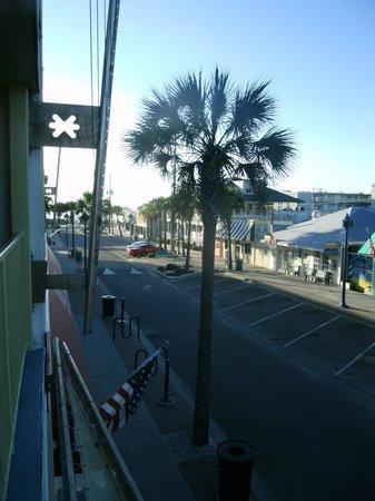 Sea & Breeze Hotel: early morning from the balcony