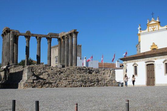 The roman ruins just outside the hotel - Picture of ...