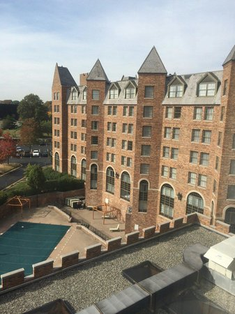 Sheraton Parsippany Hotel: View from the 5th floor