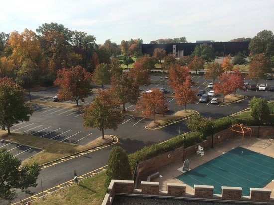 Sheraton Parsippany Hotel: View from the 5th floor (nice but there s nothing around if you don't have a car)