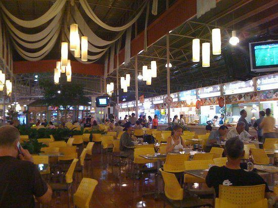 Kalare Night Bazaar : Kalare Bazaar food court