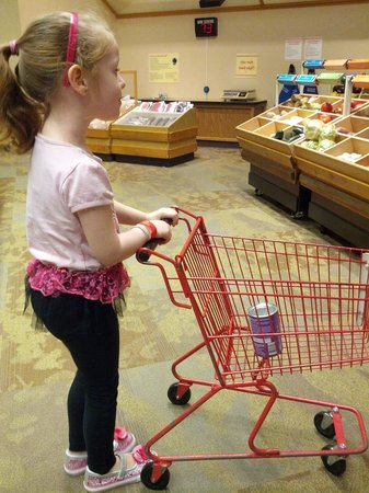The Strong National Museum of Play: Grocery shopping fun.