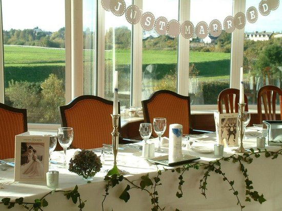 Listowel Arms Hotel : The top table