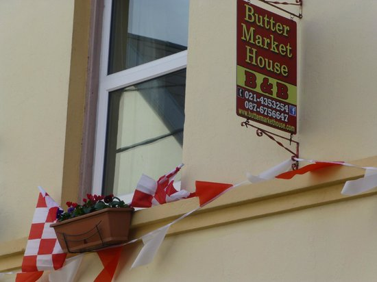 Butter Market House Bed and Breakfast: Our Window