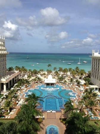 Hotel Riu Palace Aruba: View from Our Room