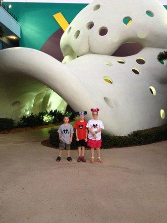 Disney's All-Star Movies Resort: Mighty Ducks hotel in the All Star Movies Resort