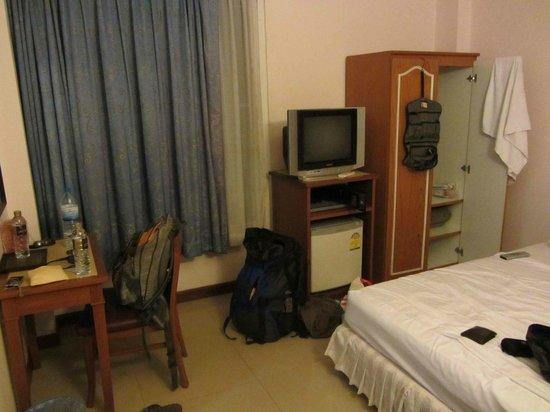 New Siam Guest House III: gute Zimmerausstattung