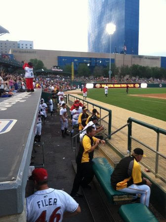 Victory Field : Front row...
