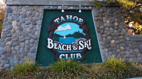 Tahoe Beach and Ski Club: Main Entrance Sign