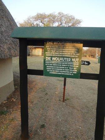 Pretoriuskop Restcamp: Primeiro Hut