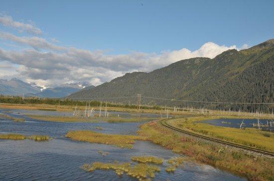 Alaska Railroad: Track to Whitter