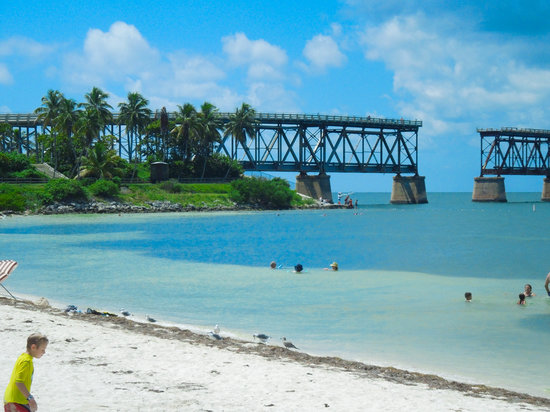 Bahia Honda State Park And Beach Where The Bridge Trail Goes