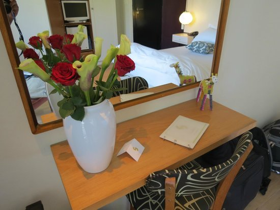Cape Standard: It was our anniversary and i arranged flowers