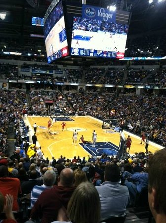 Bankers Life Fieldhouse: Go Pacers!