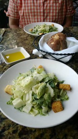 La Tavola : Caesar Salad and Semolina bread