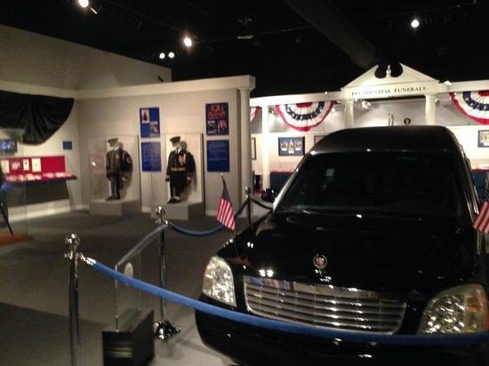 National Museum of Funeral History: afdeling presidenten