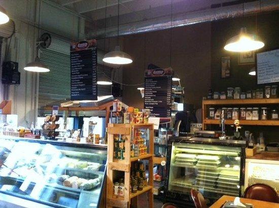 Goodfellas Cafe & Winery: Deli/market area of Goodfellas