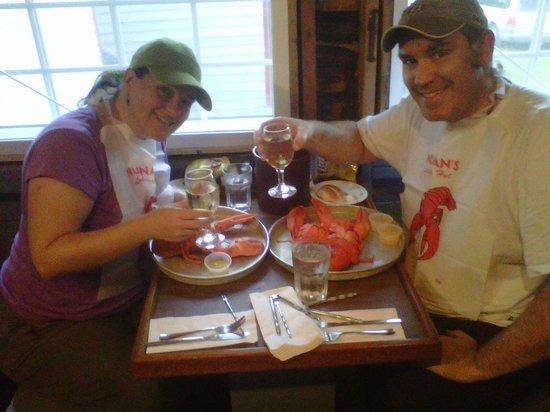Nunan's Lobster Hut: Best Lobster we've ever tasted!