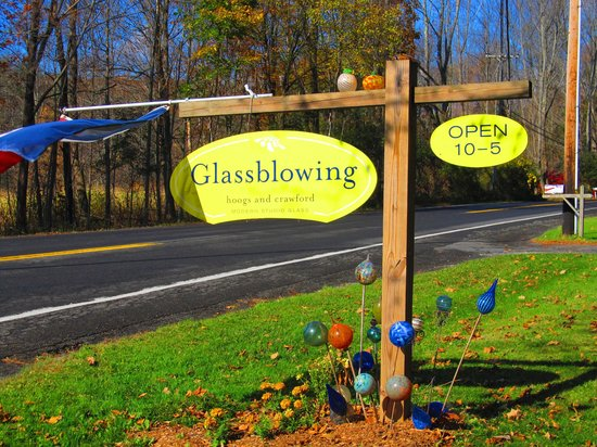 Days Inn - Lenox MA: Hoog and Crawford Glassblowers Canaan NY