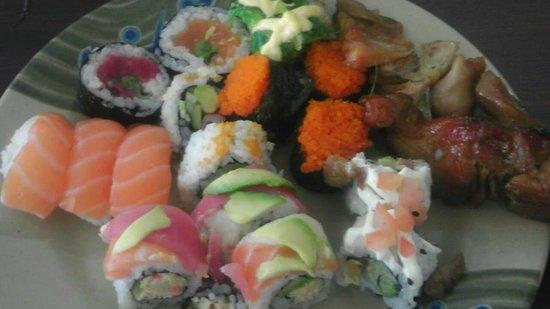 Jing Du Japanese Buffet: Buffet selections
