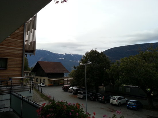 Hotel Bahnhof : View from Hotel
