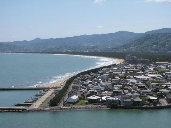 Nijino Matsubara : 唐津城から虹の松原