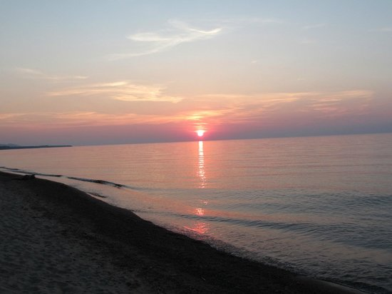 Superior Shores Resort: great views of sunset