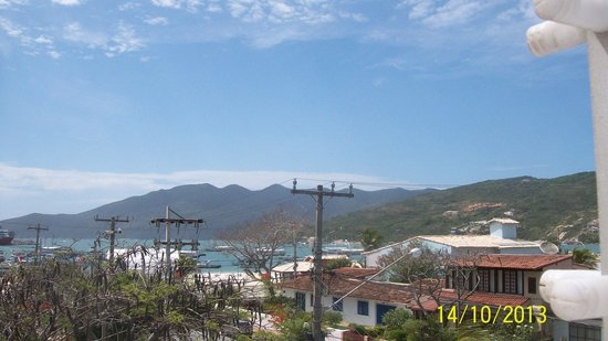Hotel Praia dos Anjos: Vista do terraço do hotel