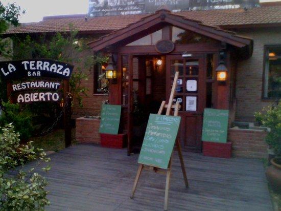 Entrada Picture Of La Terraza Resto Bar Nono Tripadvisor
