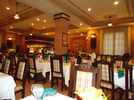 Hotel Riu Santa Fe The Italian Restaurant Very Decent
